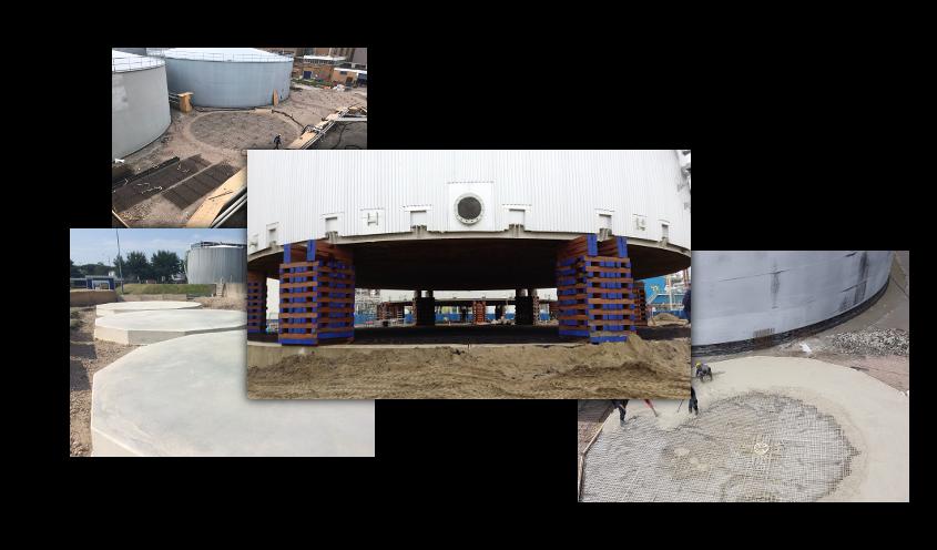 Arma Tankbouw | Civil engineering works
